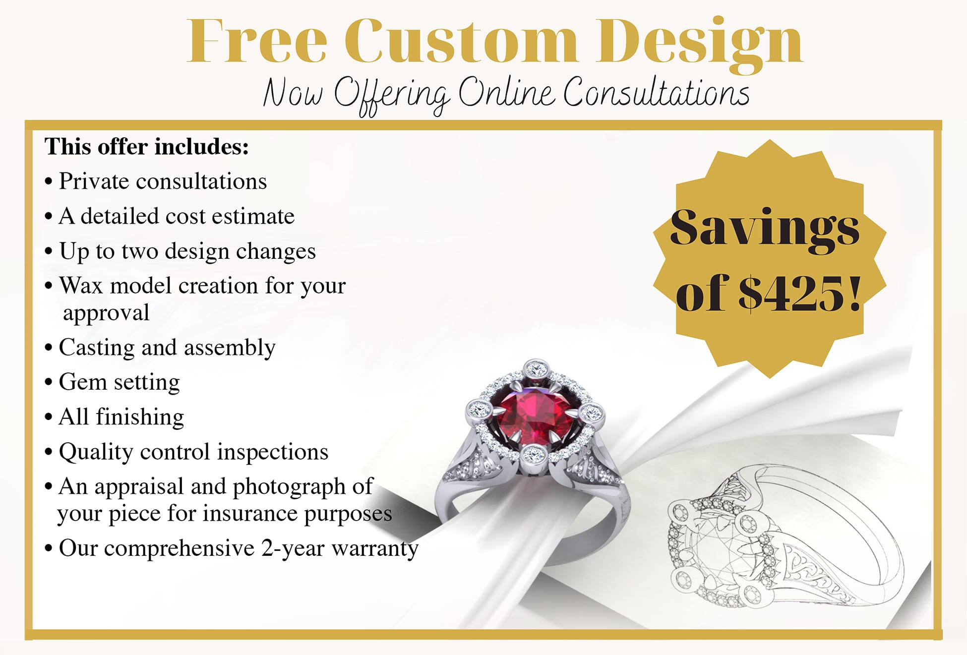 Free Custom Jewelry Design